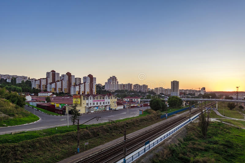 Belgorod Ryssland fotografering för bildbyråer