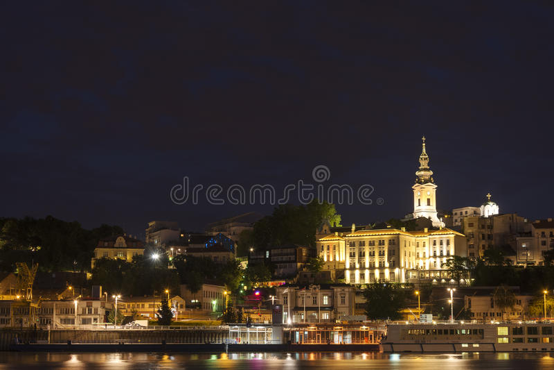 Belgrad,塞尔维亚 免版税图库摄影