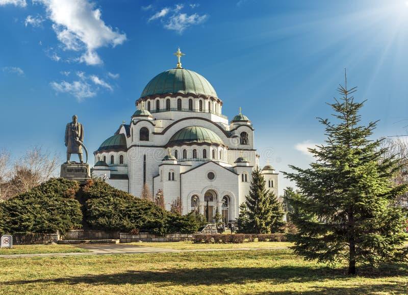 Belgrad stockfotografie