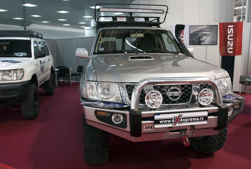Auto Nissan stockfotos