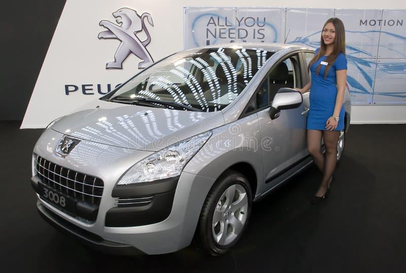Auto Peugeot 3008 stockfotos