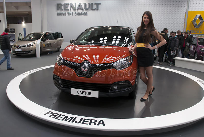 Auto Renault Captur stockfotos