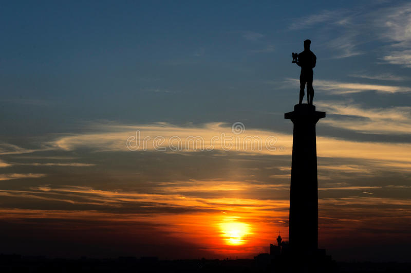 Belgrad-Sieger stockfotos