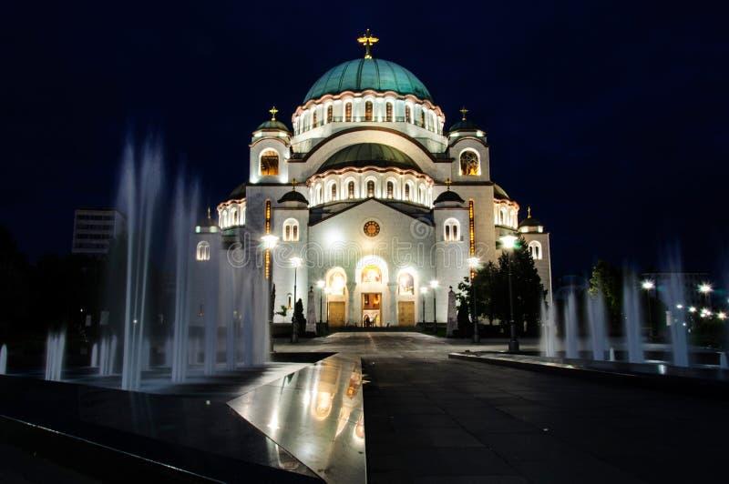 Belgrad tample stockbilder