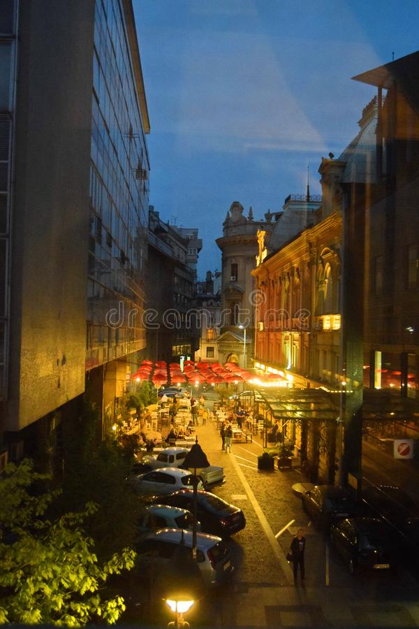 Belgrade Serbia. Belgrade — meaning `White City` — is the capital of the Republic of Serbia. With a population of over 1.7 million people, Belgrade stock photography