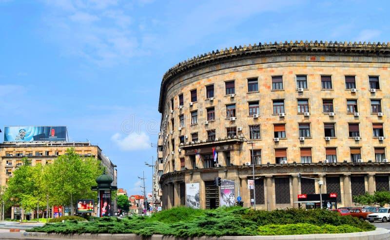 Belgrade Serbia royalty free stock images