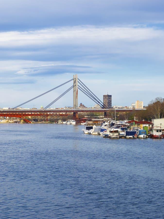 Belgrade city stock images