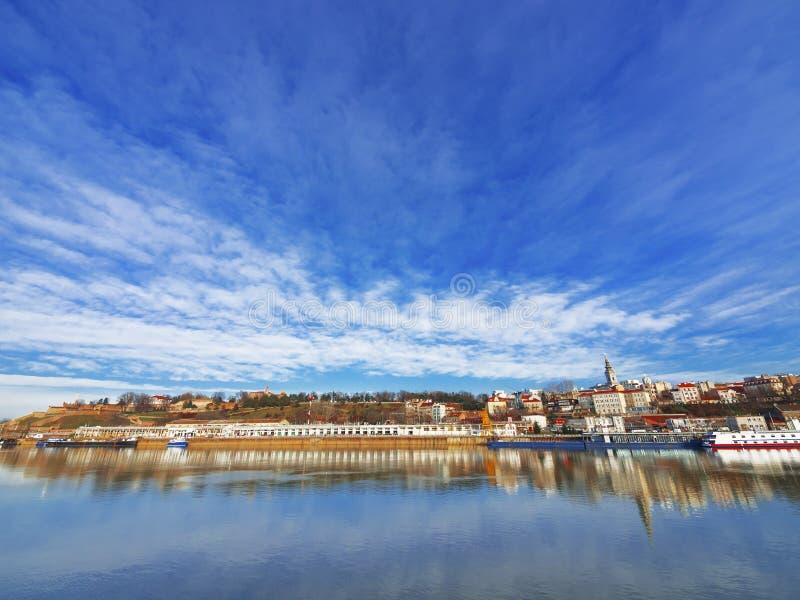 Belgrade city stock photo