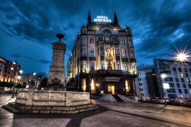 Belgrade city royalty free stock photos