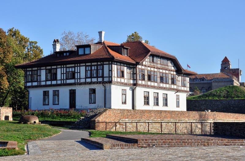 Belgrade forteca zdjęcie stock