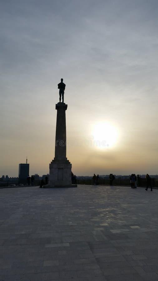 Belgrade stock image