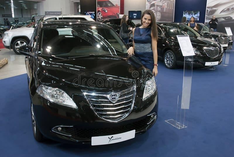 Voiture Lancia Ypsilon images libres de droits