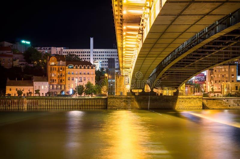 Belgrade pejzaż miejski zdjęcie royalty free