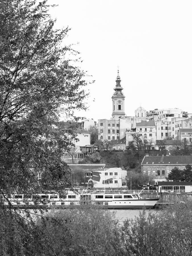 belgrade serbia royaltyfria foton
