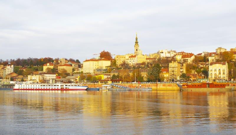 belgrade serbia arkivbilder