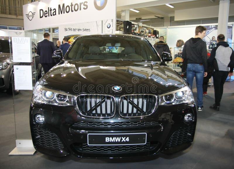 BMW at Belgrade Car Show. BELGRADE,SERBIA-MARCH 27,2018: BMW X4 xDrive 20d at DDOR BG Car Show 06 stock photo
