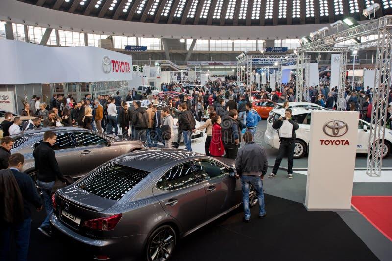 Belgrade Car Show Toyota royalty free stock images
