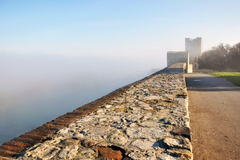 Belgrade slott royaltyfria bilder