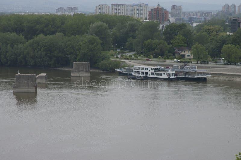 Belgrado, a capital do graduado Srbije de Glavni da Sérvia foto de stock