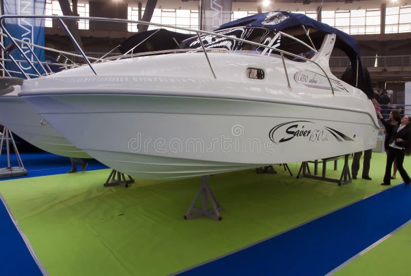Barco luxuoso -1 foto de stock