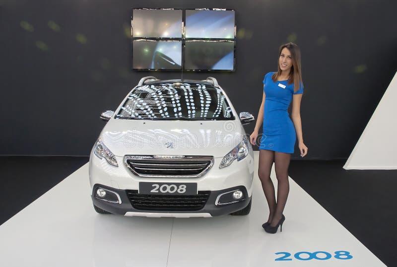 Coche Peugeot 2008 imagen de archivo