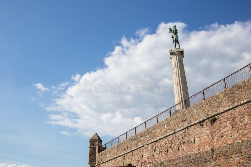 Belgrado - Sérvia - Pobednik imagem de stock royalty free