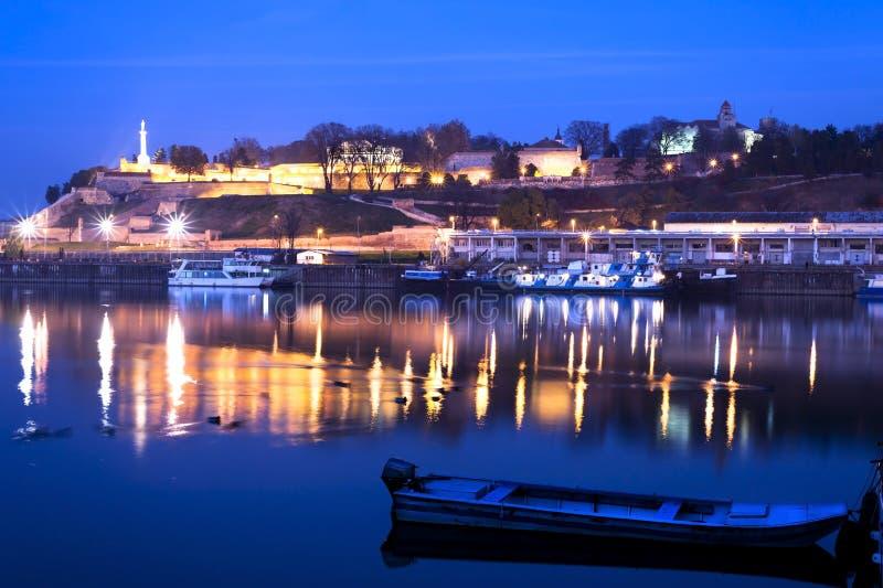 Belgrado Serbia fotografie stock