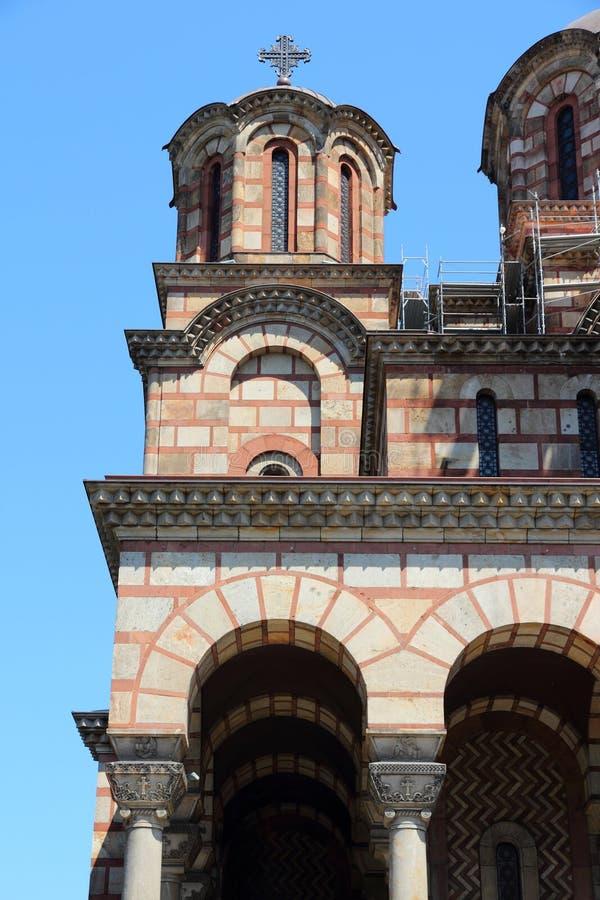 Belgrado - chiesa ortodossa serba fotografia stock libera da diritti