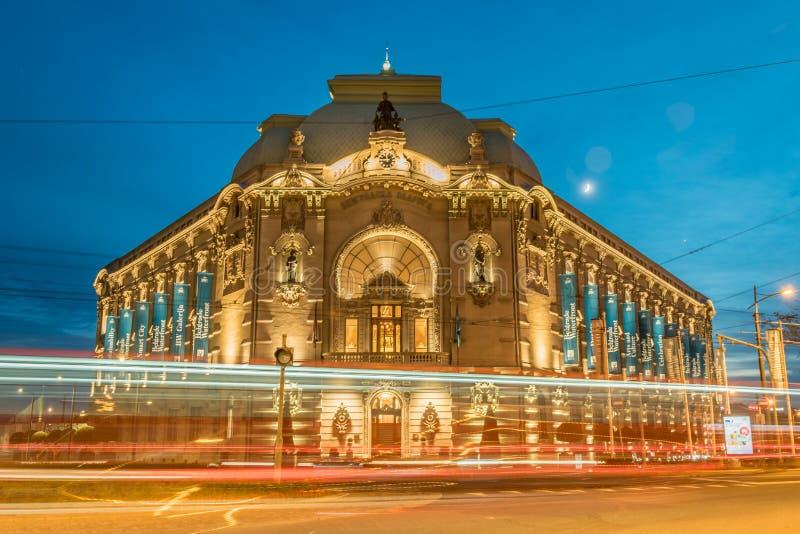 Belgrado, Serbia - 7 18 2018: Edificio cooperativo de Belgrado imagen de archivo