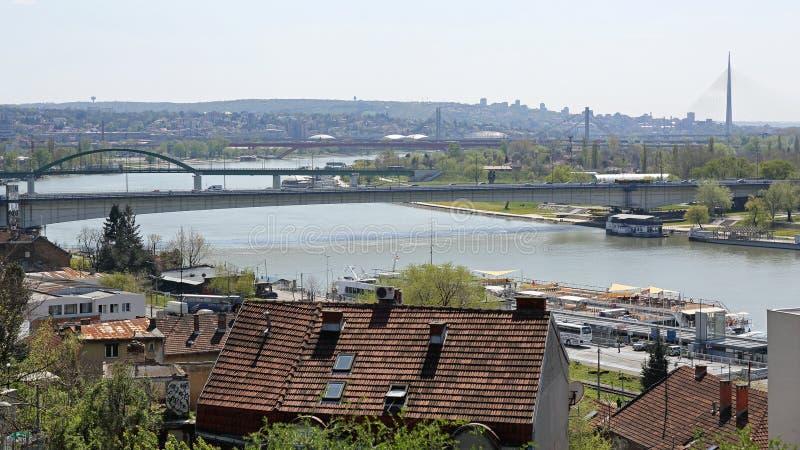 Belgrado Servië stock foto