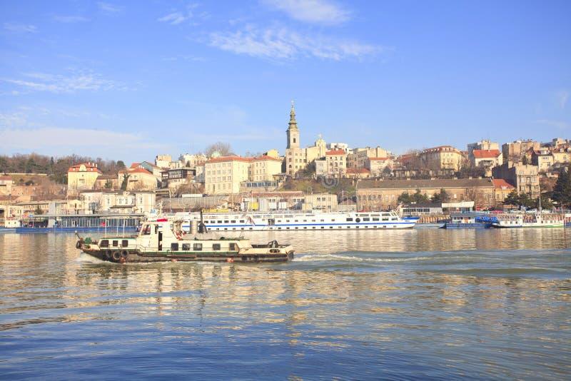 Belgrado Servië stock afbeelding