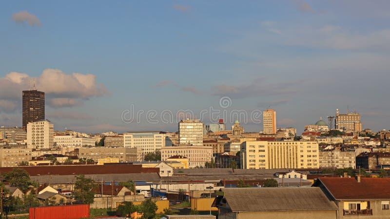 Belgrado Sunny Afternoon stock afbeeldingen