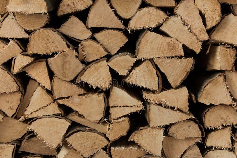 Beli drewna zakończenie up zdjęcia royalty free
