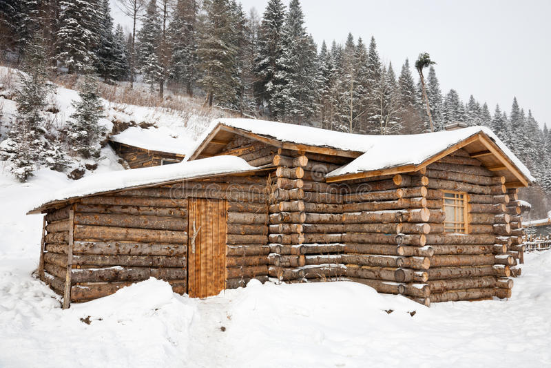 beli kabinowa zima obrazy stock
