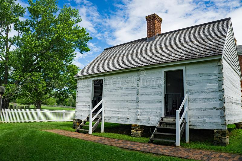 Beli kabiny niewolnika ćwiartki obraz stock