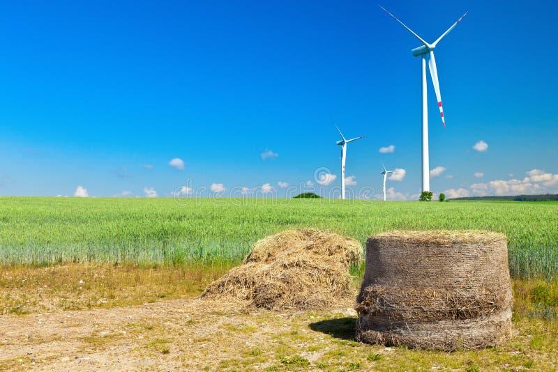 beli siana turbina wiatr fotografia stock