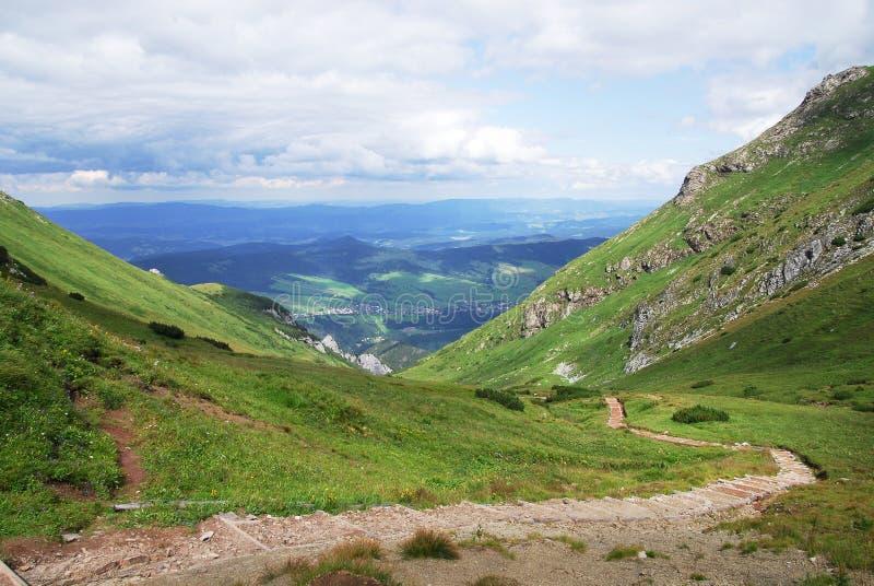 Belianske Tatras 库存照片