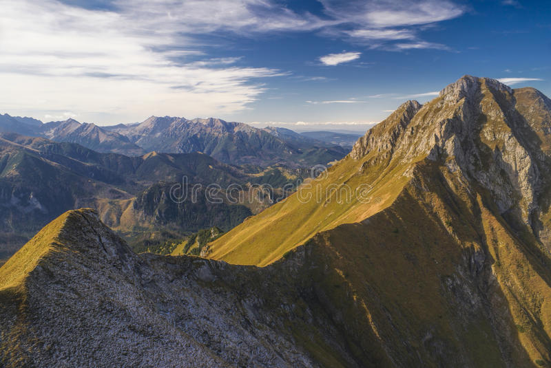 Belianske Tatry foto de stock