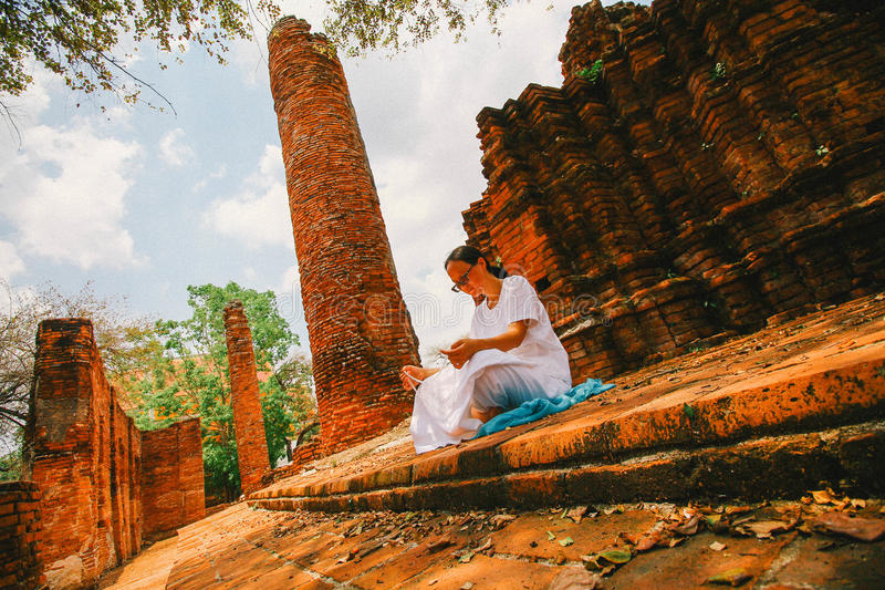 Believe in Buddha stock photography