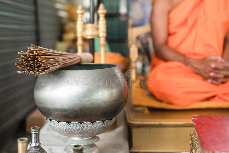 We believe in Buddhisms teachings. Thailand is the land of Buddhism stock photography