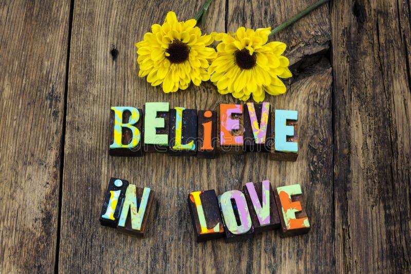 Believe love hope magic romance life enjoy royalty free stock photo
