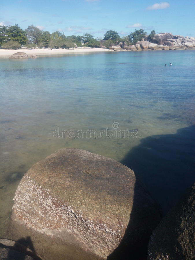 Belitung étonnant image libre de droits