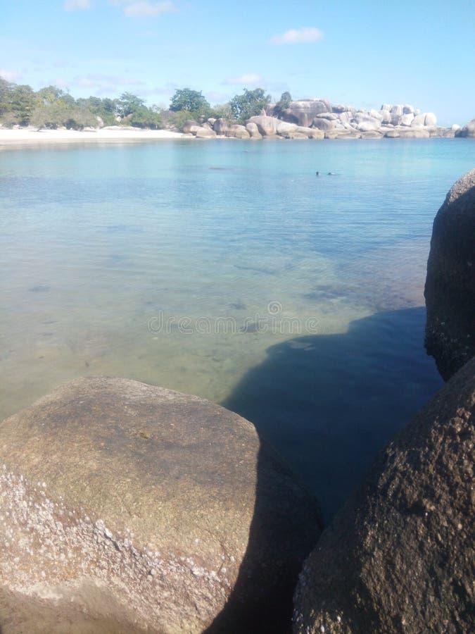 Belitung étonnant photographie stock