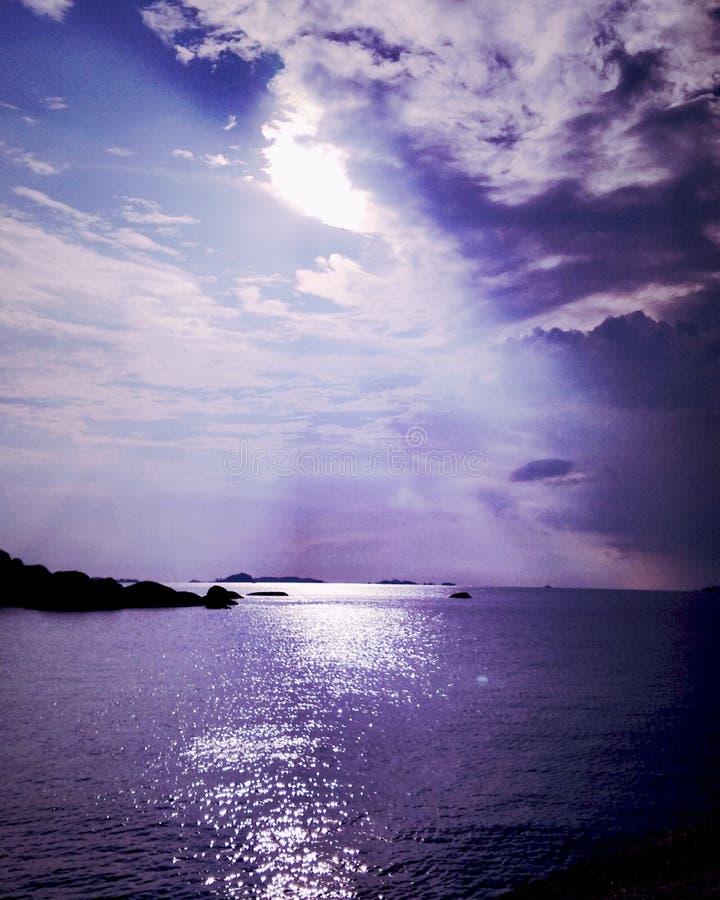 Belitung ö arkivbild