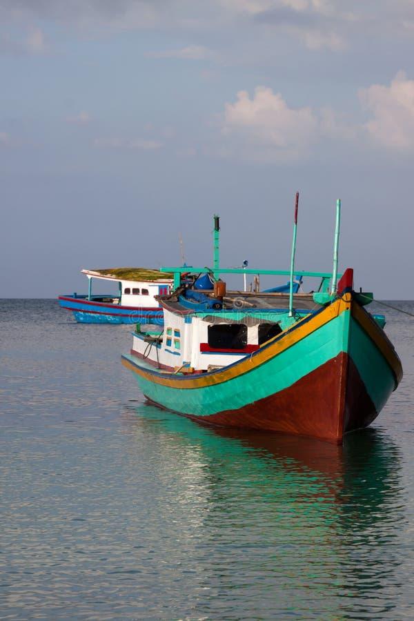 Download Belitung Fishing Boats stock photo. Image of destination - 15232226
