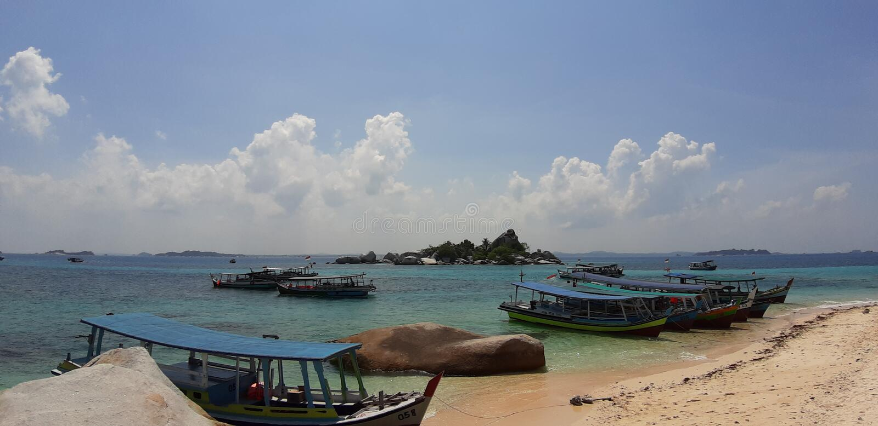 Belitung Indonesia lizenzfreie stockfotos