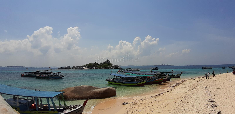 Belitung Indonesia foto de archivo