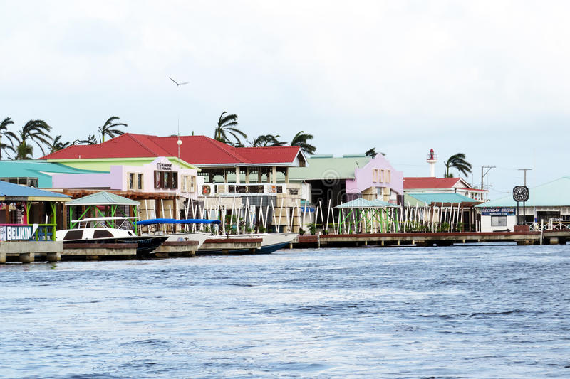 Belize city stock photos