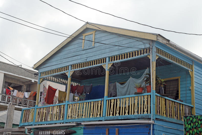 Belize house stock images