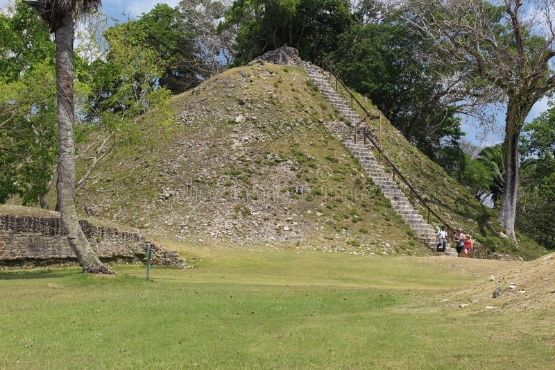 Belize Majskie ruiny fotografia stock
